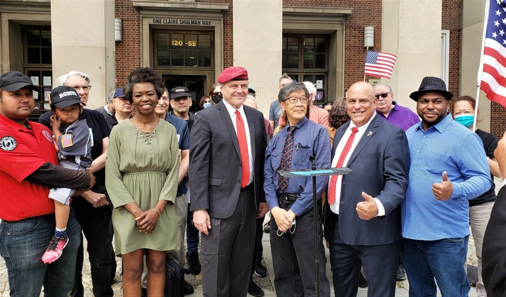 Republican Mayoral Nominee, Curtis Sliwa Calls For Election Integrity Reform